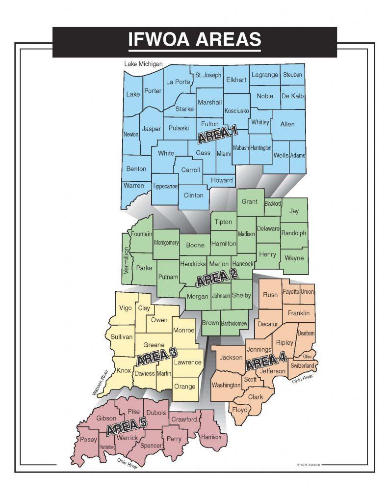 IFWOA district map